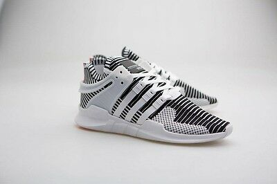detailed look 03fef 88d6b Adidas Men EQT Support ADV Primeknit white footwear white turbo BA7496