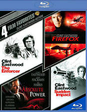 4 Film Favorites: Clint Eastwood Action (Blu-ray Disc, 2014) NEW SEALED