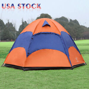 5-8-Person-Waterproof-4-Season-Family-Instant-Tent-Double-Layer-Hiking-Camping