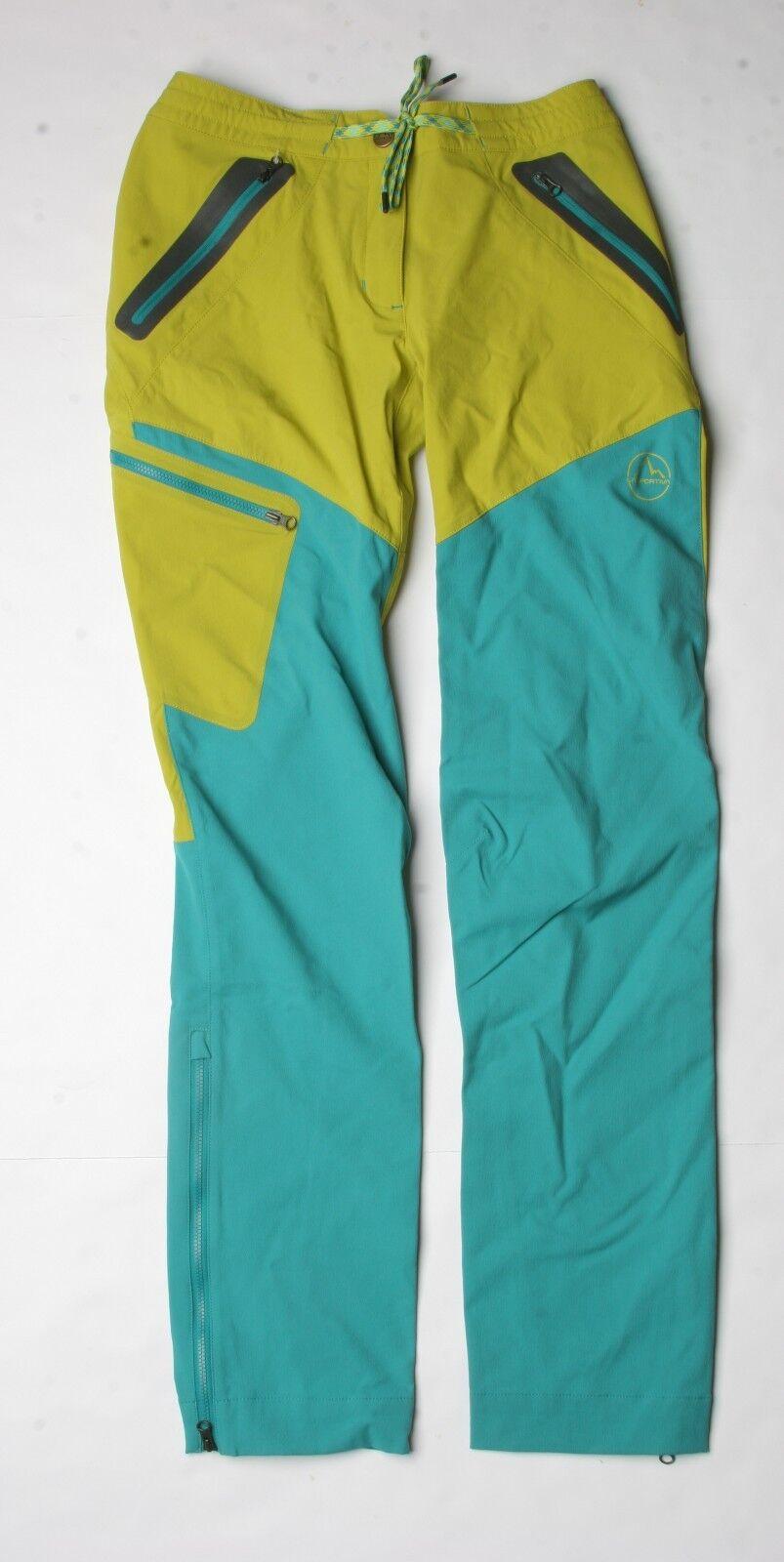 La Sportiva Women TX Max Pant (S) Citronelle   Emerald