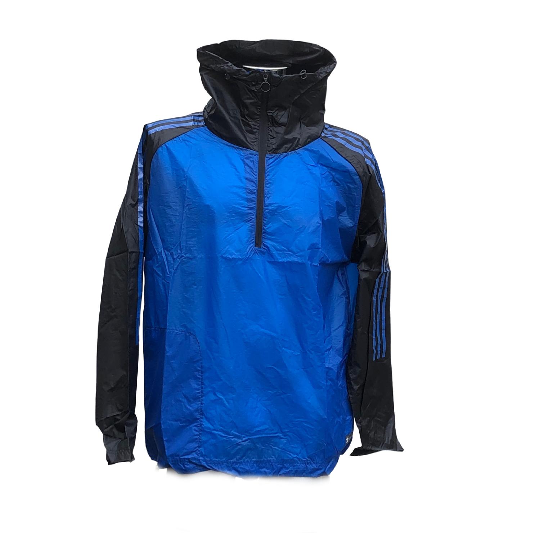 Mens adidas running training top jacket Blue lightweight Size Medium AJ7278