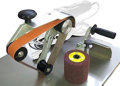 Schleifmaschine Schleifmaschinen für die Metallbearbeitung Anbausatz Satiniermaschine  SAT100pro
