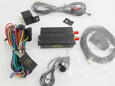 TK103A Vehicle Car GPS/GSM/GPRS/SMS Tracker Real-time Google Map/Phone/WEB LINK