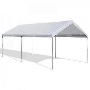 Portable Carport Garage Kit Tent 10 x 20 Steel Metal ...