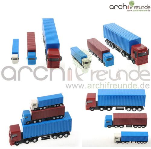 1 x modelo Grosse camiones modellbau 1:75-200 modelleinsenbahn pista 00//h0//tt//n//z