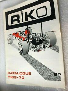 1969-70 RIKO Model Kits Catalogue Model Cars tanks & aircraft