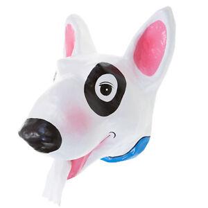 Bull Terrier Toilet paper Holder Tissue dog pet Mache holding roll handmade diy