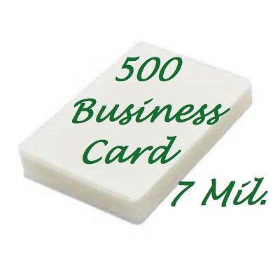 Prayer Card 500 10 Mil Laminating Pouches Laminator Sheets 2-3//4 x 4-1//2