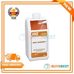 Hg Parquet Wooden Floor And Hardwood Wax Remover 1 Litre