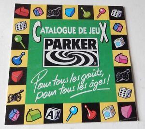 Contemplatif Catalogue De Jeux Parker 80' : Zuma - Monopoly - Cluedo - Risk - Brainstorm... Avec Des MéThodes Traditionnelles