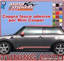 Mini Cooper - Fasce adesive a 1 colore - cod. art. cx70