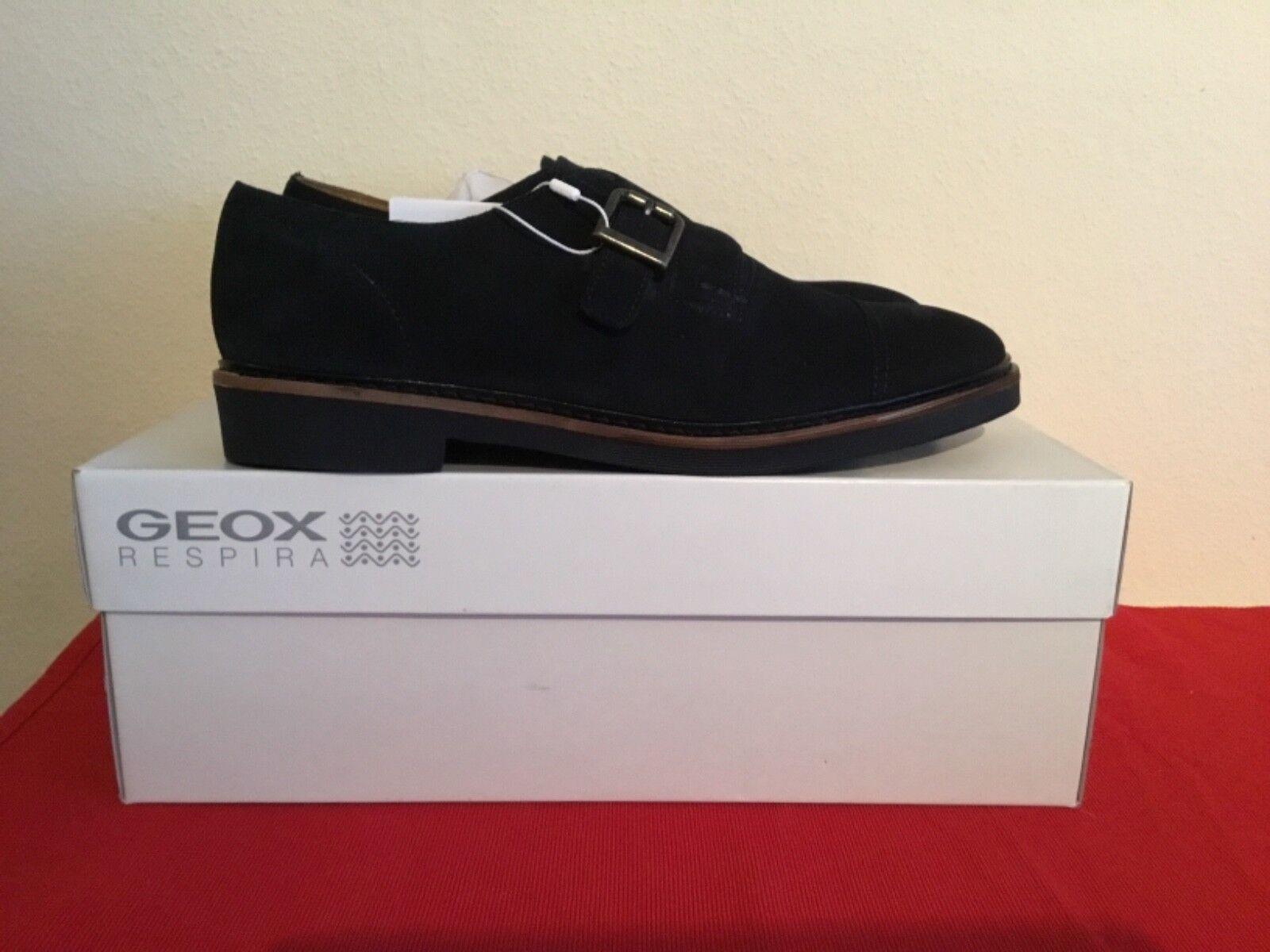Geox u madocle a u640sa zapatos caballero zapatos cuero Suede talla  44 nuevo en caja de cartón