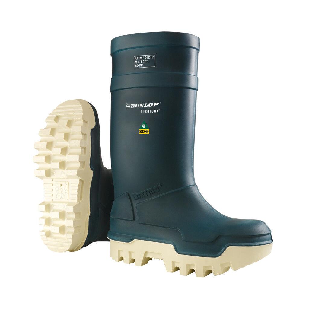 Neu Dunlop Thermo Herren Sicherheitsschuhe - E662673