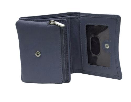 Prime Hide pour femme S Violet en Cuir Sac à Main Pochette Portefeuille RFID Bloquant Boxed