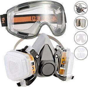 Masque chimique respirateur de protection industriel peinture Bricolage NEUF FR