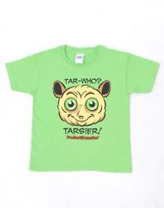 SO-CUTE-SPECIAL-SALE-Youth-T-shirt-w-Endangered-Tarsier-Image-amp-funny-saying