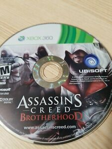 Assassin-039-s-Creed-Brotherhood-Xbox-360-Disc-Only-Tested-Fast-Free-Ship