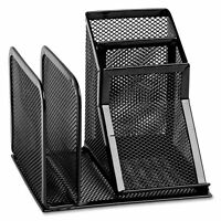 Rolodex Mesh Collection Desk Organizer, Black (22171) , New, Free Shipping