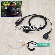 Acoustic Ear Tube Surveillance Kit for Motorola CLS1110 CLS1410 Mag One A8 BPR40