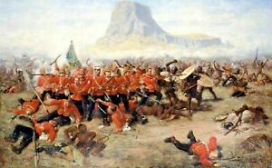 The-Battle-of-Isandlwana-Zulu-Canvas-Picture-Print-30-034-x20-034