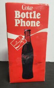 COCA COLA BOTTLE PHONE MODEL 5000 COKE TELEPHONE WITH WALL BRACKET
