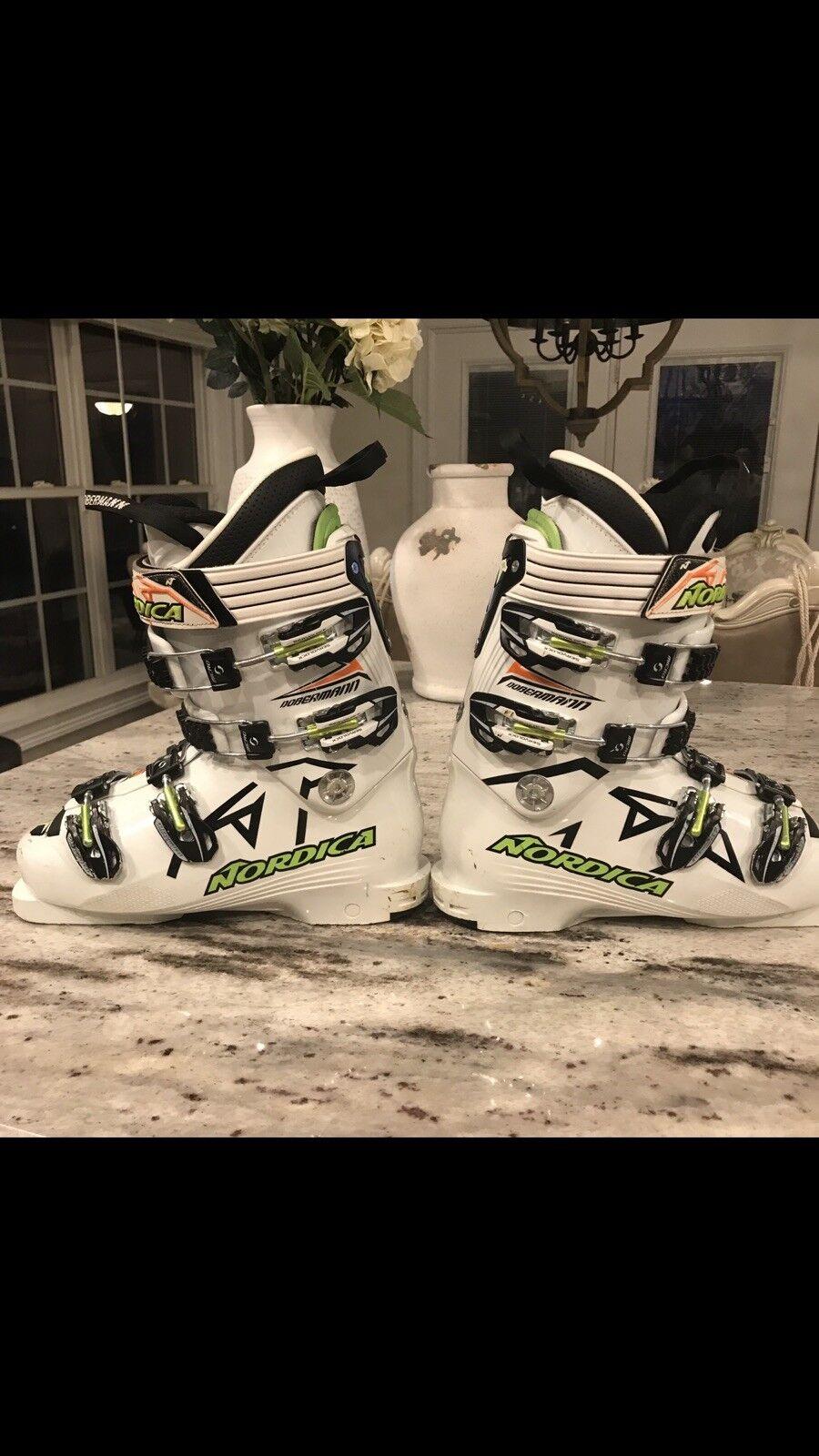 Nordica dobermann spitfire 100 W Race Ski Boots Size 6
