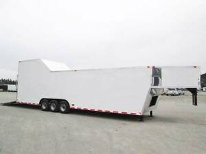 8-5x38-Gooseneck-Sprint-Car-Racing-Car-Hauler-Enclosed-Trailer