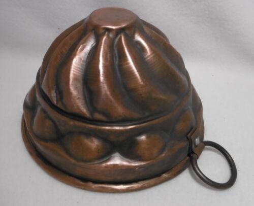 ++  alte  Kupfer Backform - Kupfermodel / Kuchenform Ø 15,5 cm ++