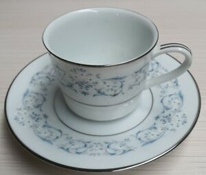 Vintage-Noritake-Fine-China-Lorraine-Demitasse-Coffee-Cup-Saucer-Pn6785-c1966-73