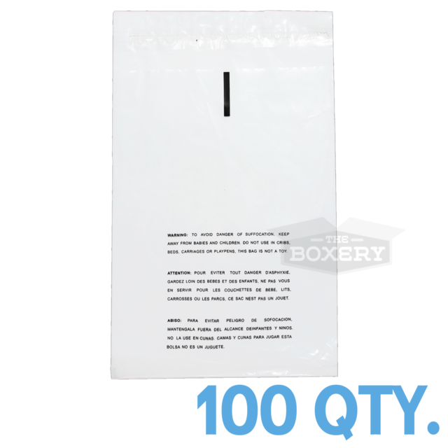 200 SUFFOCATION WARNING 9 x 12 RESEALABLE CELLO POLY BAGS 1.5 MIL OPP BAGS