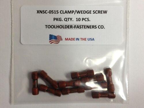 10 Pieces XNSC-0515 Clamp//Wedge Screw