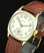 20s VINTAGE GRUEN 885 ART DECO CUSHION SHAPED WRIST WATCH – MINT DIAL – MID SIZE