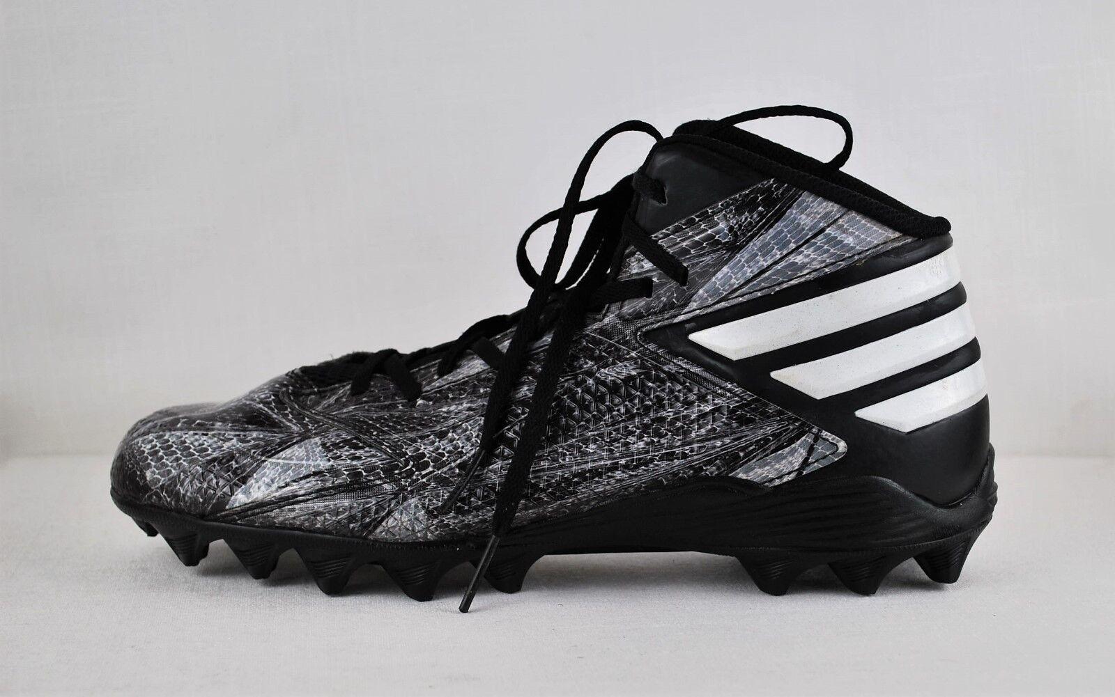 Adidas Men's Hi Top Basketball Animal Print Sneakers Comfortable Brand discount