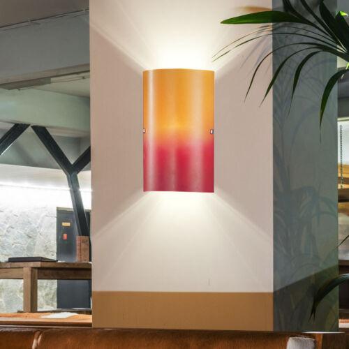 Luxe mur luminaire éclairage verre Escalier Maison Lampe Orange Rouge Projecteur Bureau