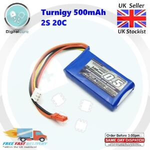 Turnigy-500mAh-7-4V-2S-20C-30C-JST-Lipo-Battery-450-700-850-1000-Racing-FPV