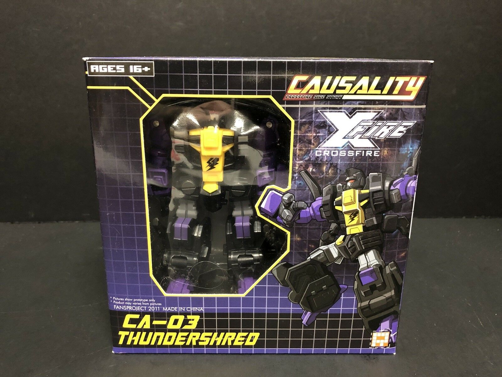 Transformers Fansproject Causality CA-03 ThundershROT ATL0423
