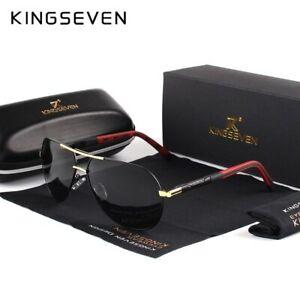 KINGSEVEN-Men-Vintage-Aluminum-Polarized-Sunglasses-Classic-Brand-Sun-glasses