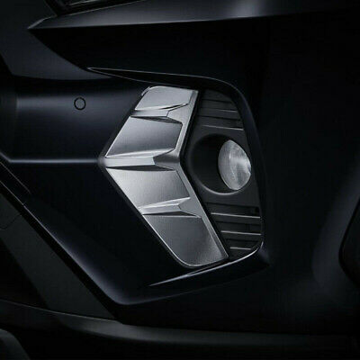 fit 2016-2019 Lexus RX350 ABS Chrome Front Fog Light Lamp Cover Trim Garnish