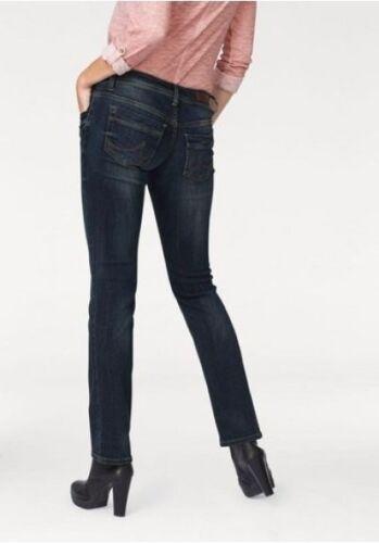LTB Jeans Valentine W28-W32 L34 Damen Stretch Straight Low Rise Hose Blue Used