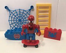EUC Mega Bloks Minifigure Lot Spider-Man