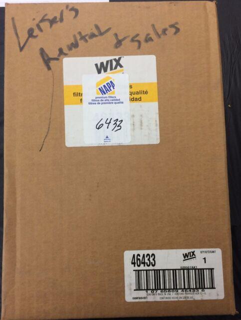 Wix 46433 / Napa 6433 Air Filter - New In Box