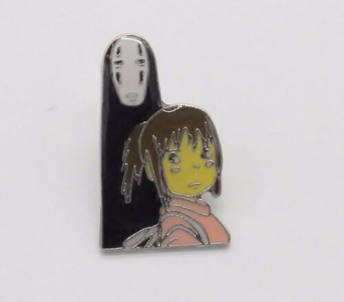 Spirited Away No Face /& Girl Pin Badge ~Brand New~