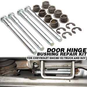 Door-Hinge-Pin-Bushing-Repair-Kit-2-Door-For-Chevrolet-GMC-88-02-Truck-SUV