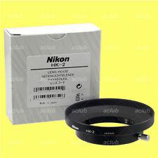 Genuine Nikon HK-2 Slip-On Lens Hood AI-S AiS 24mm f/2 (Manual Focus)