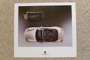 2004 Porsche Carrera Coupe Showroom AdvertisingPoster