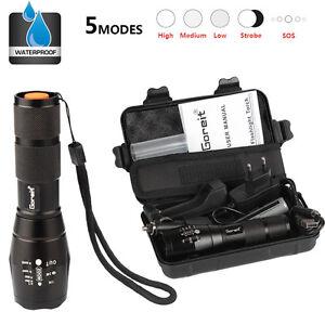 X800-shadowhawk-6000LM-lampe-de-poche-led-torche-militaire-batterie-et-chargeur