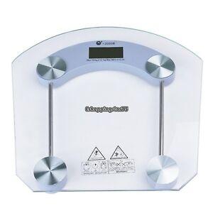Digital 396 lbs Bathroom Scale Body Personal Weight Glass ...