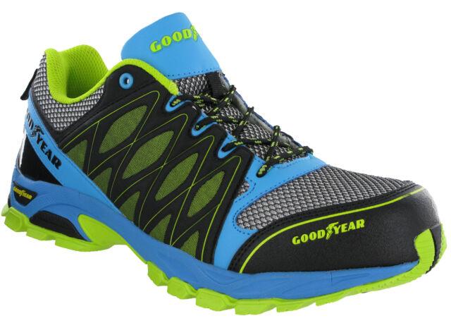 6471f0de Goodyear Zapatillas de Protección Composite Puntera S1 Ligero sin Metales  Cordón