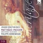 "Johann Sebastian Bach: Matth""us-Passion [1984 Recording] (CD, Jul-2015, 3 Discs, Harmonia Mundi (Distributor))"