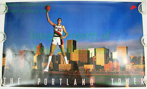 NITF-Vintage-NIKE-Sam-Bowie-Poster-The-Portland-Tower-Trail-Blazers-EXCELLENT